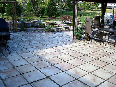 BUY 5 GET I FREE 18x18 CONCRETE SLATE CASTLE STEPPING STONE CEMENT PAVER MOULDS