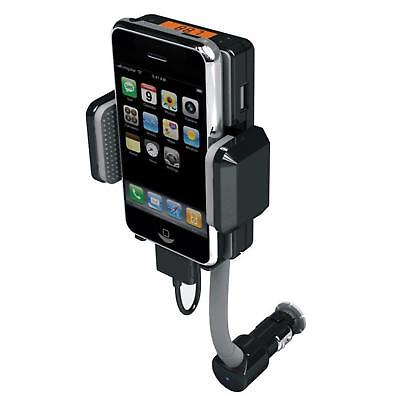 Car FM Transmitter + Car Charger + Remote + Holder For iPhone 4 4G 4S + Warranty