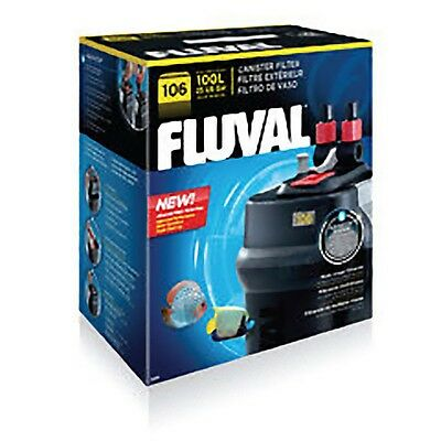 Fluval 106 External Aquarium Filter 550lph Super Quiet