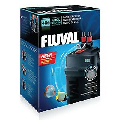 Fluval 406 External Aquarium Filter 1450lph Super Quiet