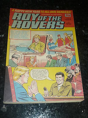 ROY OF THE ROVERS - Year 1983 - Date 31/12/1983 - UK Paper Comic