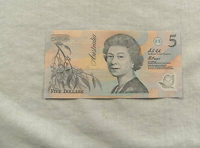 Australian  $5 Fraser/cole Polymer Bannote - Aa 31946778