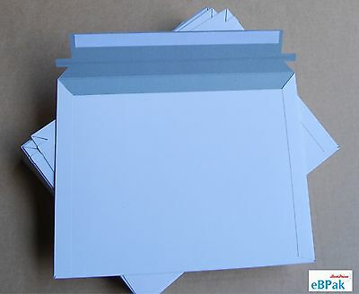 1000 B4 Size Card Mailer 255x355mm White 300gsm Envelope - Tough Bag Replacement
