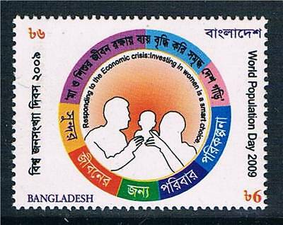 Bangladesh 2009 World Population Day SG 965 MNH