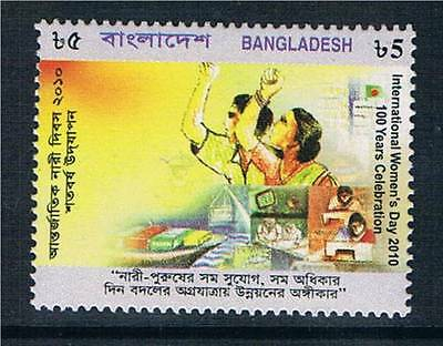 Bangladesh 2010 Int.Womens Day SG 1007 MNH