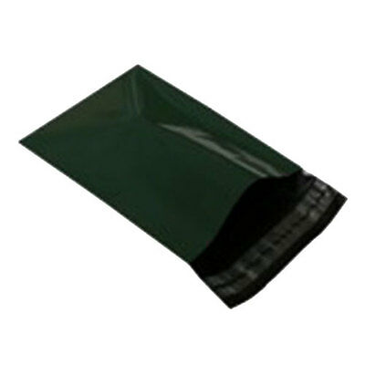 "10 Olive Green 6.5""x9"" Mailing Postage Postal Mail Bags"