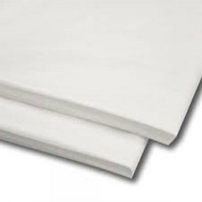 480 Sheets White Tissue Paper 500mmx750mm Acid Free