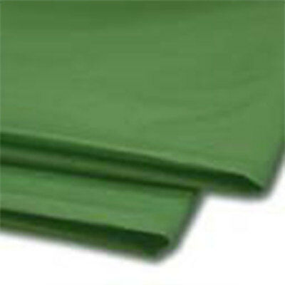 480 Sheets Dark Green Tissue Paper 500x750 Acid Free