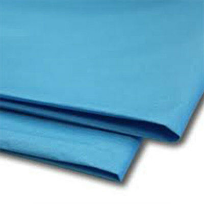 480 Sheets Turquoise Tissue Paper 500x750 Acid Free