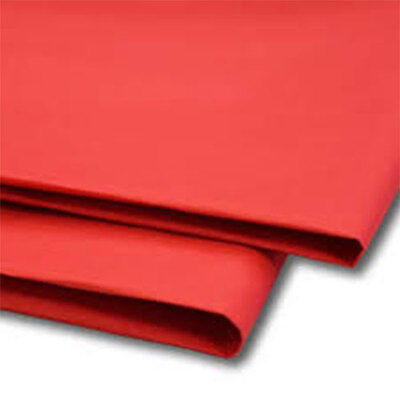 480 Sheets Red Tissue Paper 500x750 Acid Free