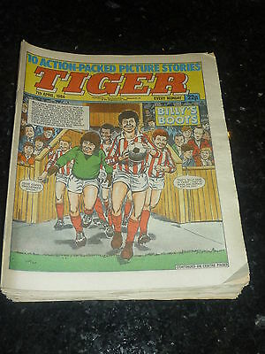 TIGER Comic - Year 1984 - Date 07/04/1984 - UK Paper Comic