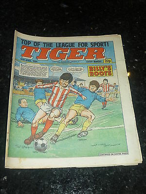 TIGER Comic - Year 1984 - Date 14/04/1984 - UK Paper Comic