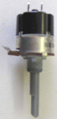Potentiometer 10K Log with Mains On/Off Switch 250V Pk2