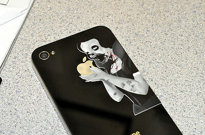 Mini Zombie Princess Decal for iPhone 4 / 4S / 3G / 3GS - vinyl sticker