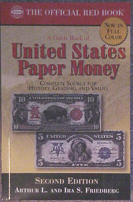 """Paper Money United States Red Book 2nd Edition""""full color illustrations"""""""