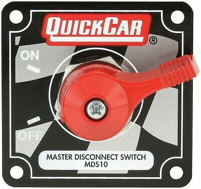 QuickCar 55-012 Silver Complete Master Disconnect Emergency CutOff Switch 4 Post