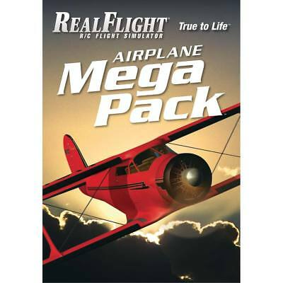 NEW Great Planes RealFlight Airplane Mega Pack GPMZ4160