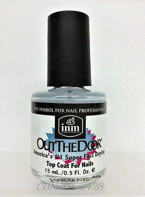 INM - Out The Door Fast Drying Nail Top Coat 0.5oz /15ml