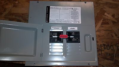 GE 60A/60A GENERATOR TRANSFER SWITCH breaker box combination 8 circuit