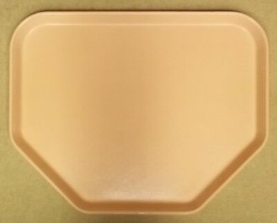 Cafeteria Trays Fiberglass 18in x 14in Pink Lot of 25