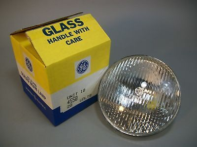 GE 4550 Aircraft Sealed Beam Lamp Light Bulb 28 V 250 W - NEW OLD STOCK