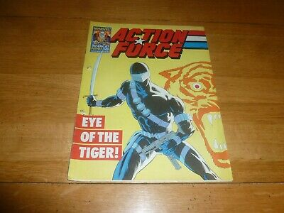 ACTION FORCE - No 40 - Date 05/12/1987 - Marvel Comic