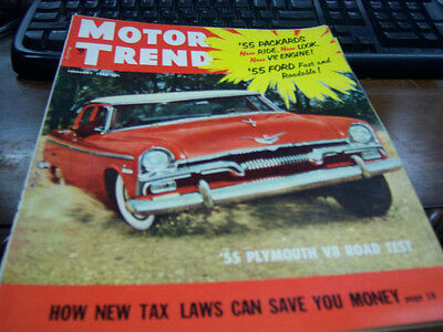 MOTOR TREND MAGAZINE February 1959,Big 3 Road Test! - $9 95