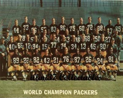 1967 Green Bay Packers Nfl Football Team 8X10 Photo Super Bowl Champs Ice Bowl