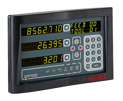 NEW Newall DP700 3 Axis Digital Readout DRO for Milling