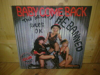 "THE BANNED baby come back 12"" MAXI 45T"