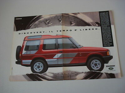 advertising Pubblicità 1990 LAND ROVER DISCOVERY