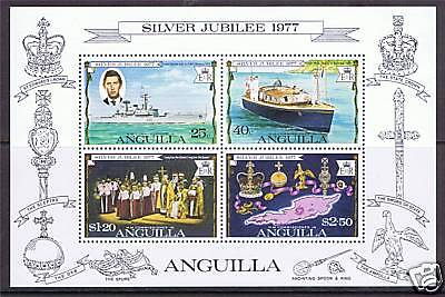 Anguilla 1977 Silver Jubilee MS SG 273 MNH