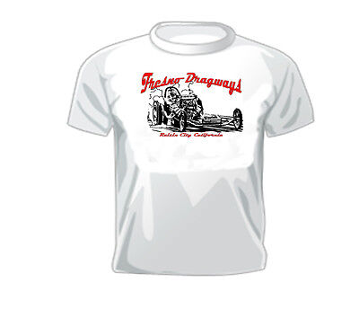 Vintage Race T-shirt Fresno Dragways