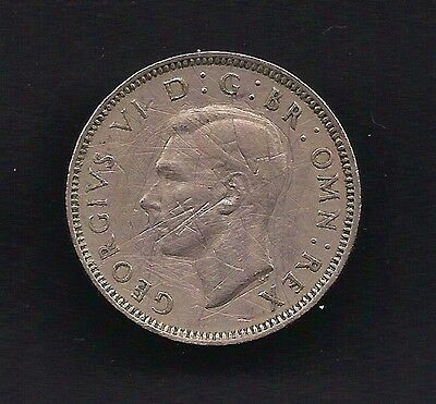 UK Great Britain 1 Shilling 1948 Coin KM# 863