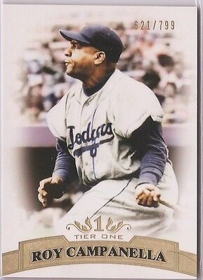 2011 Topps Tier One 1 Base Roy Campanella /799 #39