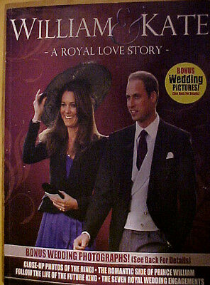"William & Kate ""A Royal Love Story"" Collector's Special Edition Book"