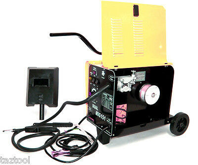 Flux Core Wire Welder Dual Mig 151 Gas And No Gas 230V 120Amp