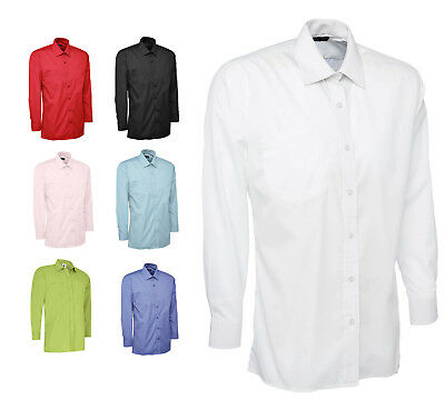 Mens Classic Long Sleeve Easy Care Formal Shirt for OFFICE CASUAL & BUSINESS 709