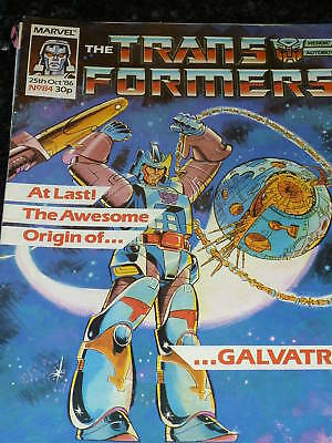 The TRANSFORMERS Comic - No 84 - Date 25/10/1986 - UK Marvel Paper Comic