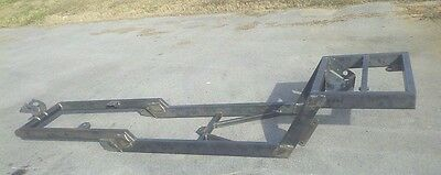 Model A Rat Rod Chassis T Bucket hot frame plans Ford