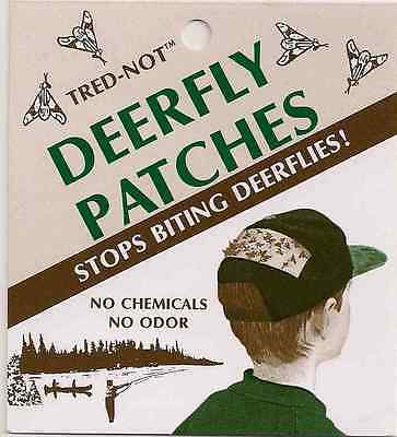 12 pack  Deerfly Patches.  Deer fly protection. Odorless, No Chemicals, Safe