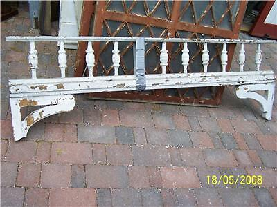 c1886 victorian gingerbread porch spandrel pediment 75""