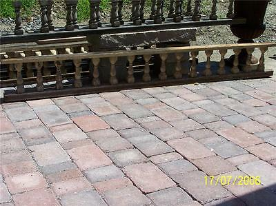 WOW 50' victorian gingerbread porch spandrel spindle