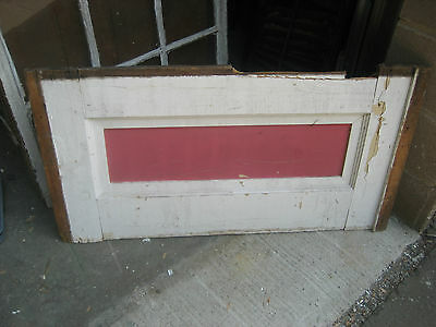 """aNTIQUE SALVAGED VICTORIAN under window MOLDING panels 39.25"""" x 21"""" Sign use"""