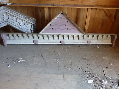 FANCY victorian gingerbread GABLE pediment fascia board