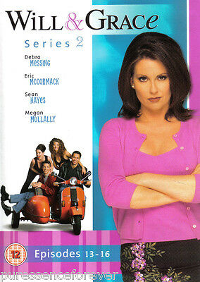 WILL & GRACE: SERIES 2, EPISODES 13-16 (R2 DVD) (McCormack/Messing)