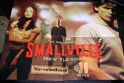 1990'S Smallville Exclusive Poster From Newsday And Wb 11 Wpix