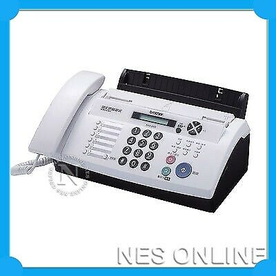 Brother FAX-878 Fax Machine Thermal Transfer FAX 20 Pages Memory+ADF Duet *RFB*