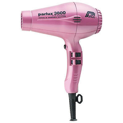 New PARLUX 3800 PINK Hair Dryer Ceramic & Ionic Super Compact  Hairdryer