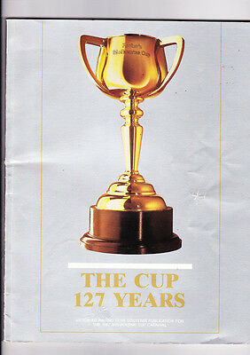 "Melbourne Cup Horse Race Book ""the Cup 127 Years"" For 1987 Cup Carnival"